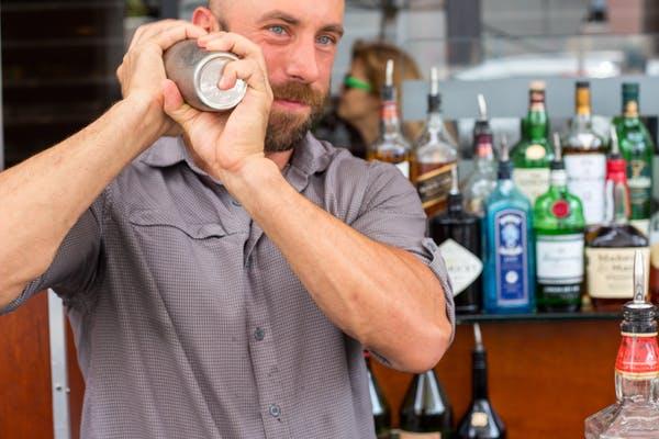 Joe Patrolia bar manager