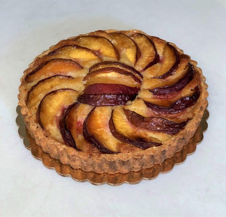 seasonal Peach Tart
