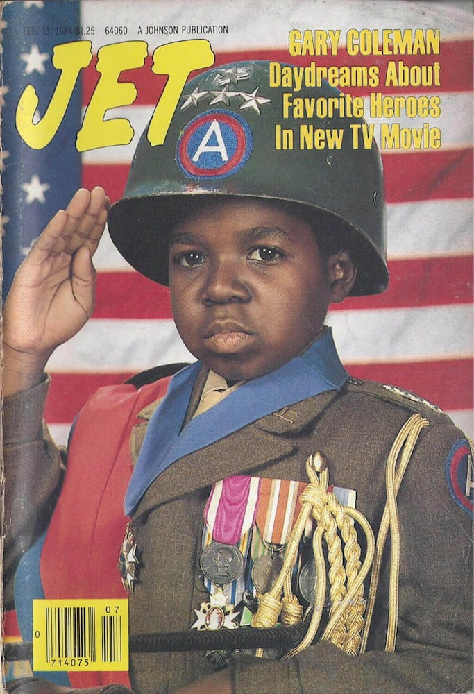 Gary Coleman wearing a hat