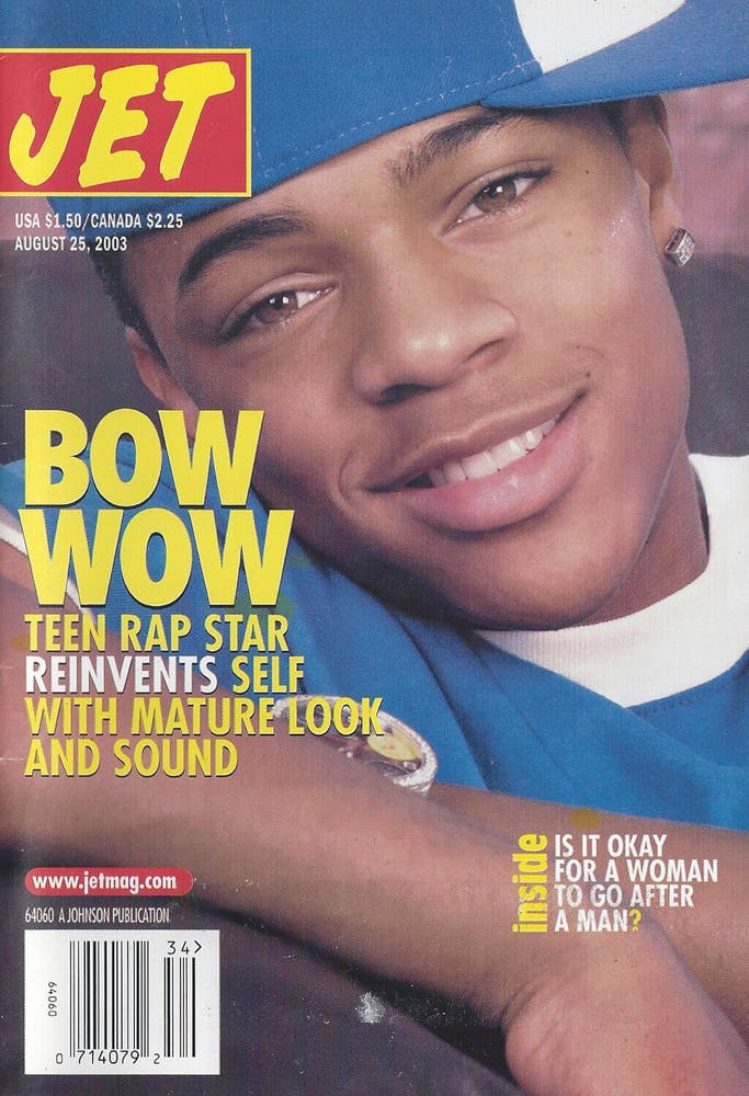 Bow Wow wearing a hat