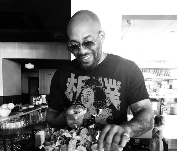 Jameel Frith bartender