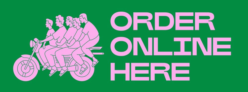 an order online clickable flyer