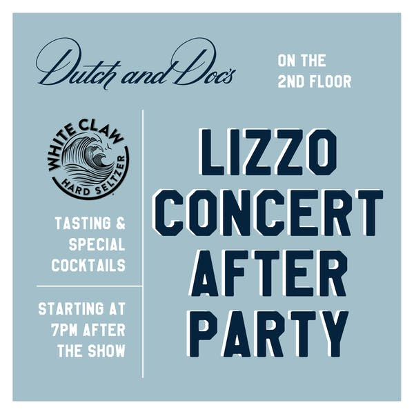 Lizzo Concert After Party
