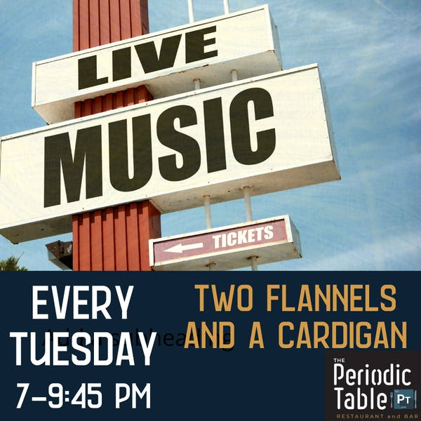 Live Music at The Periodic Table Restaurant, Howard County