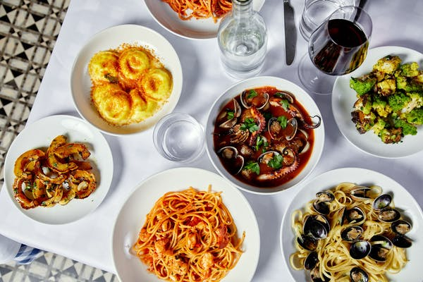 maialino mare pastas and seafood