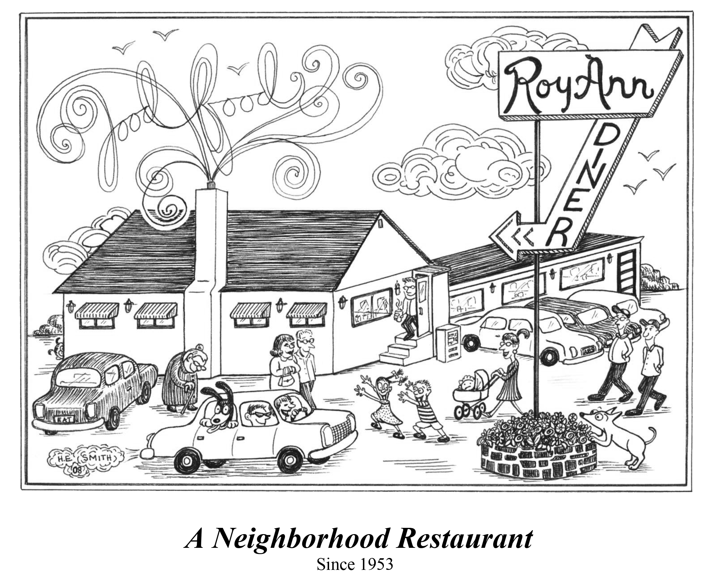 Roy Ann Diner Home