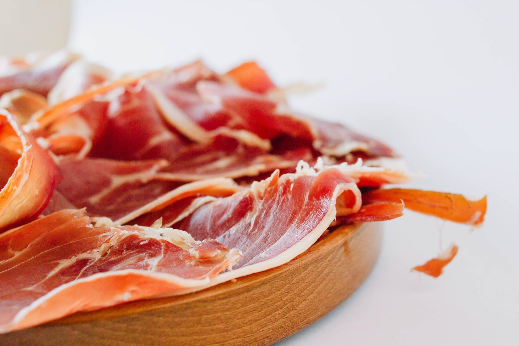 hand sliced Jamon