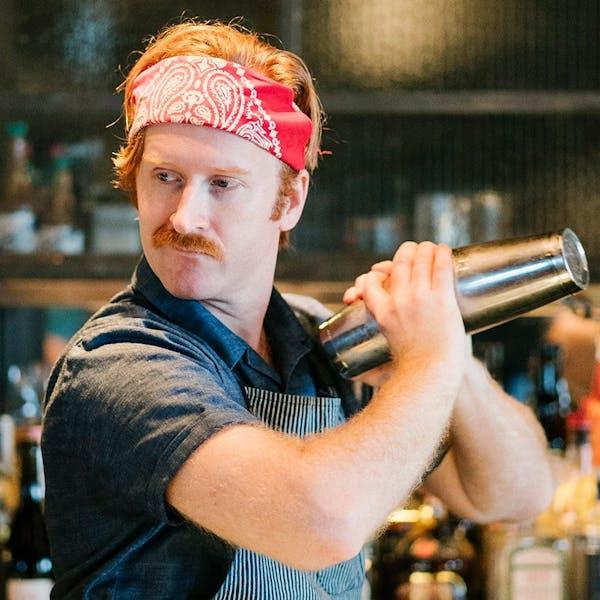 Nick Bennett, Head Bartender Porchlight bar