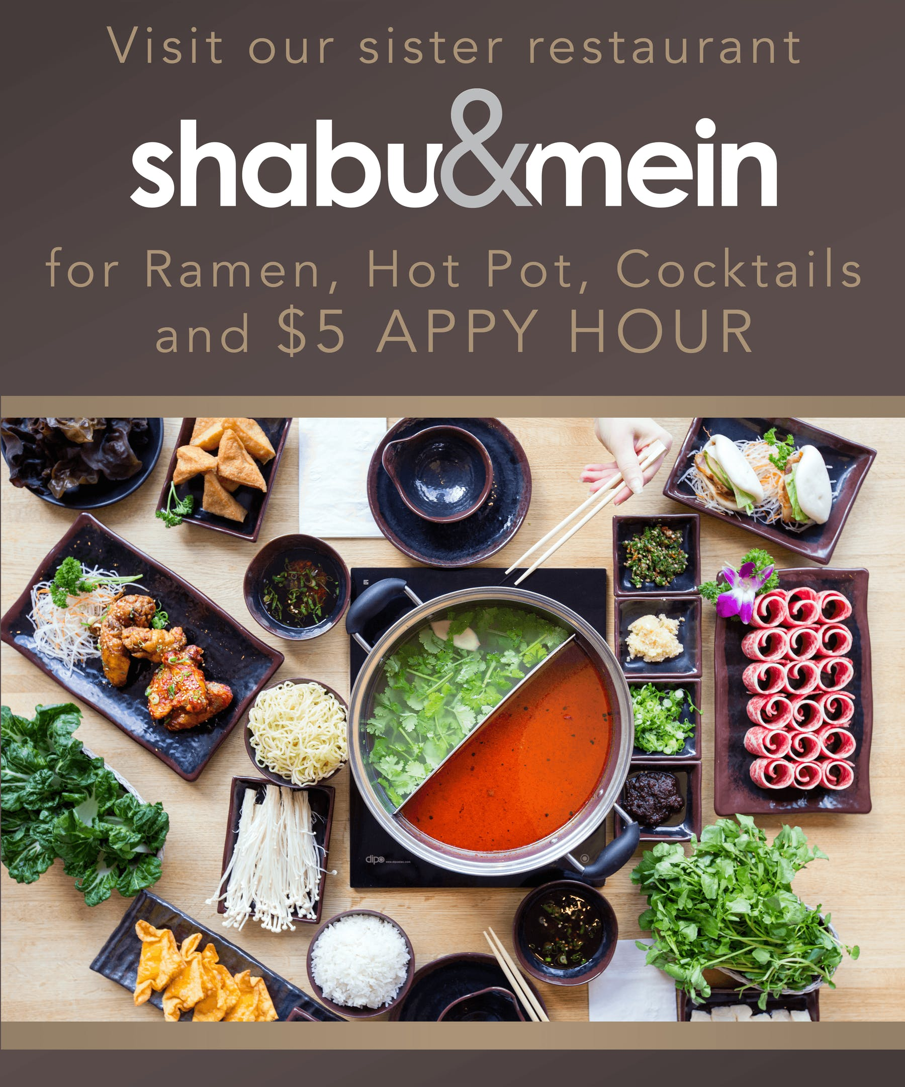 Shabu & Mein Hot Pot
