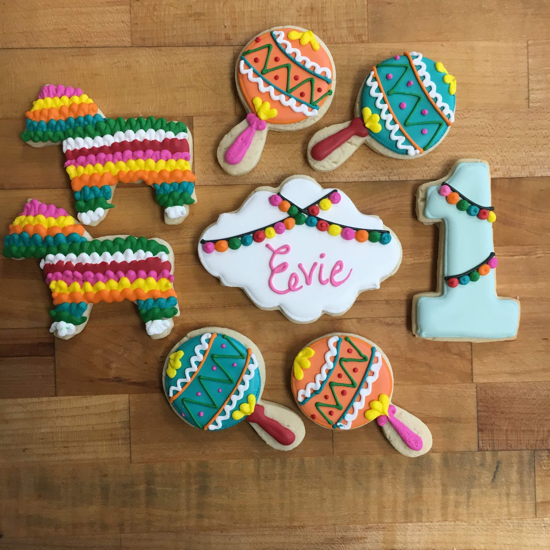 mexican themed cookies