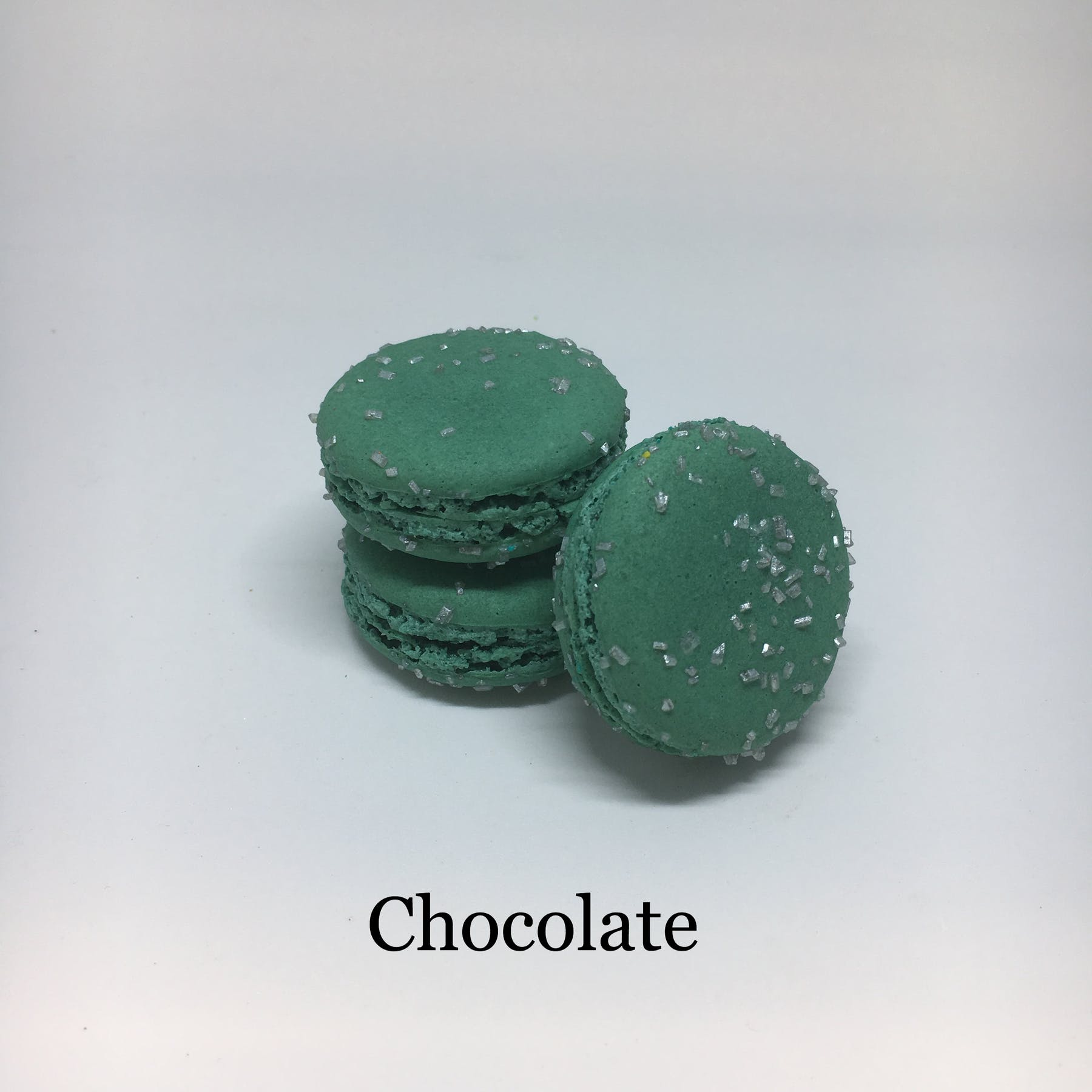 chicikate flavored macarons