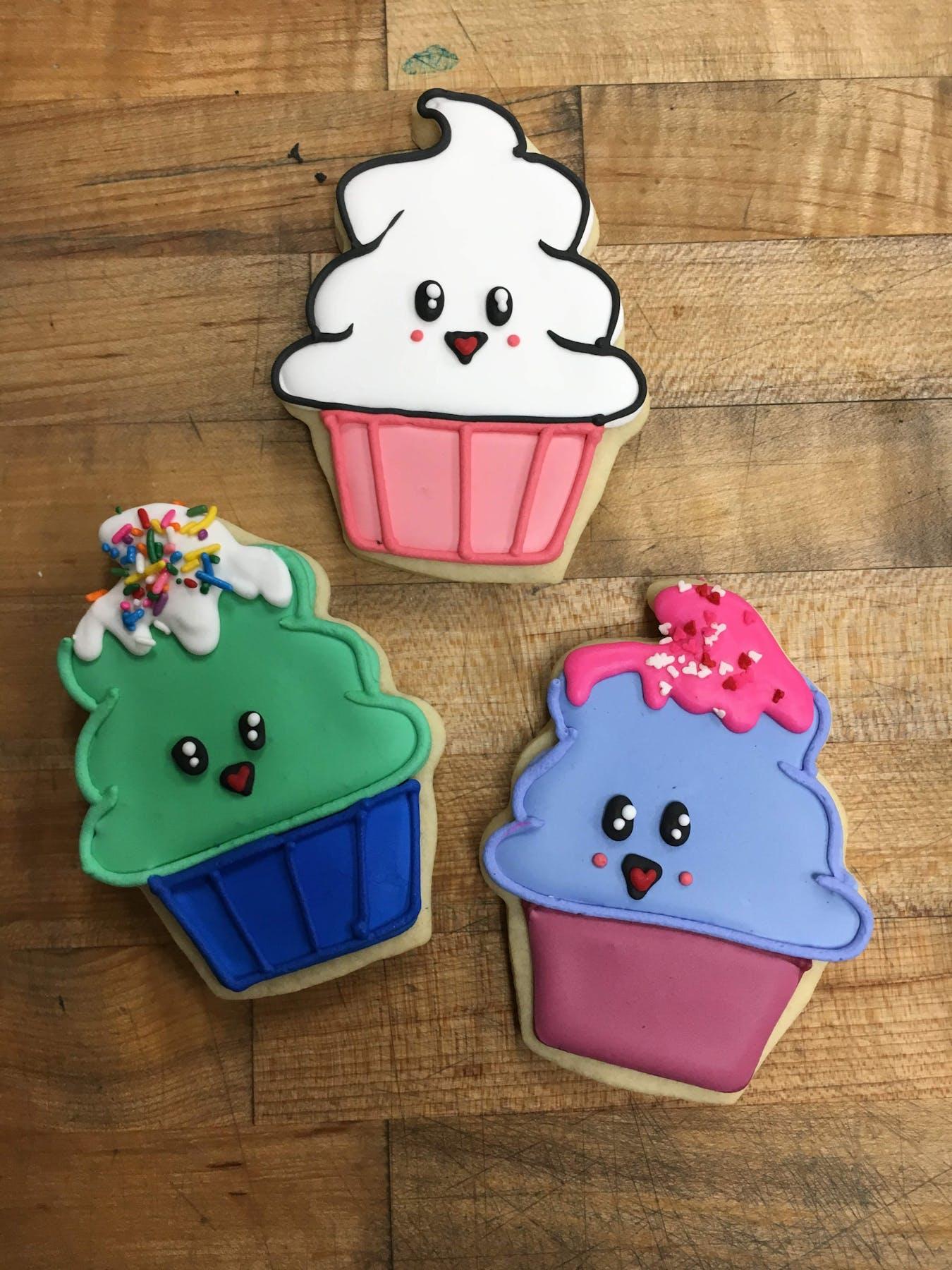 cupcake shaped cookies
