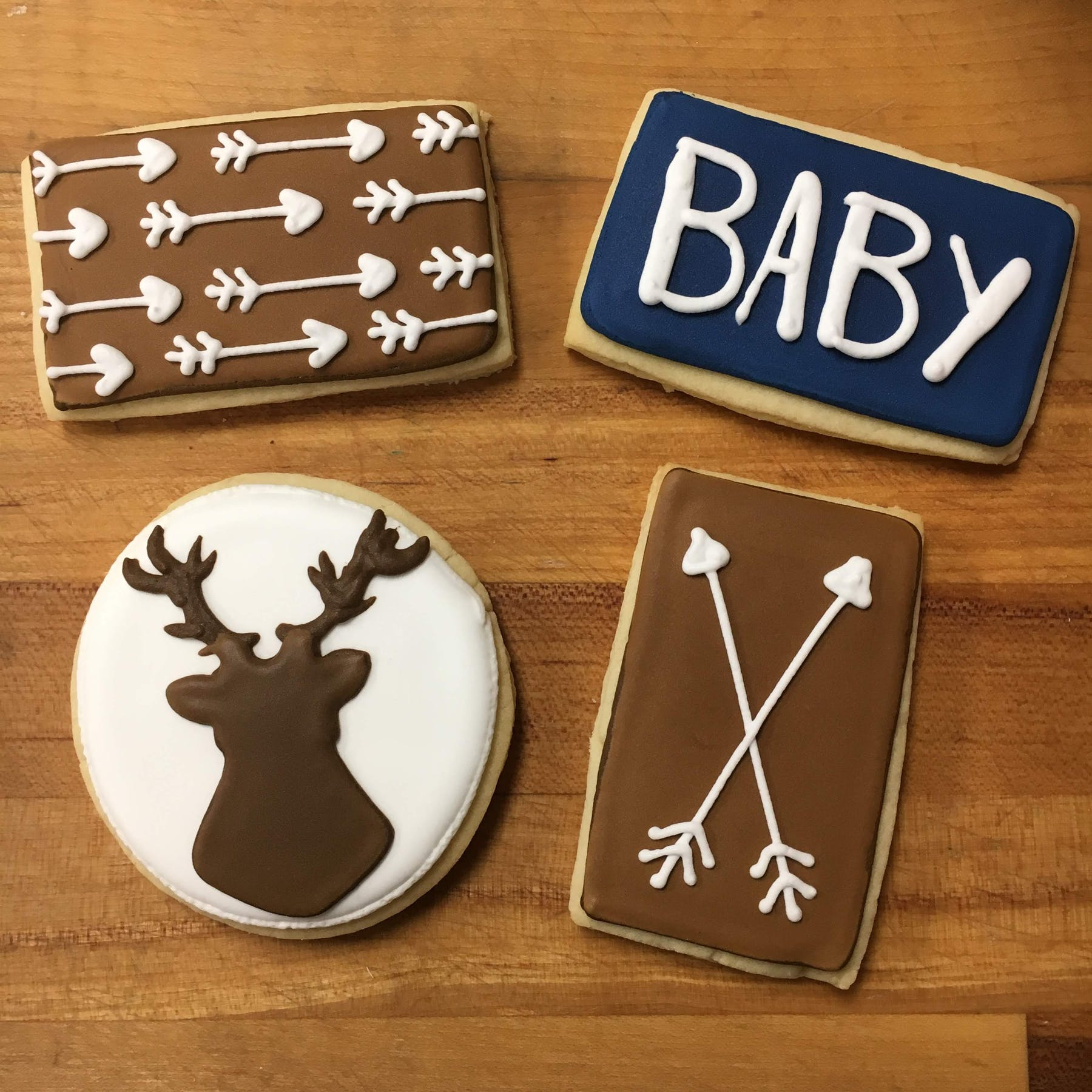 multiple decorated cookies