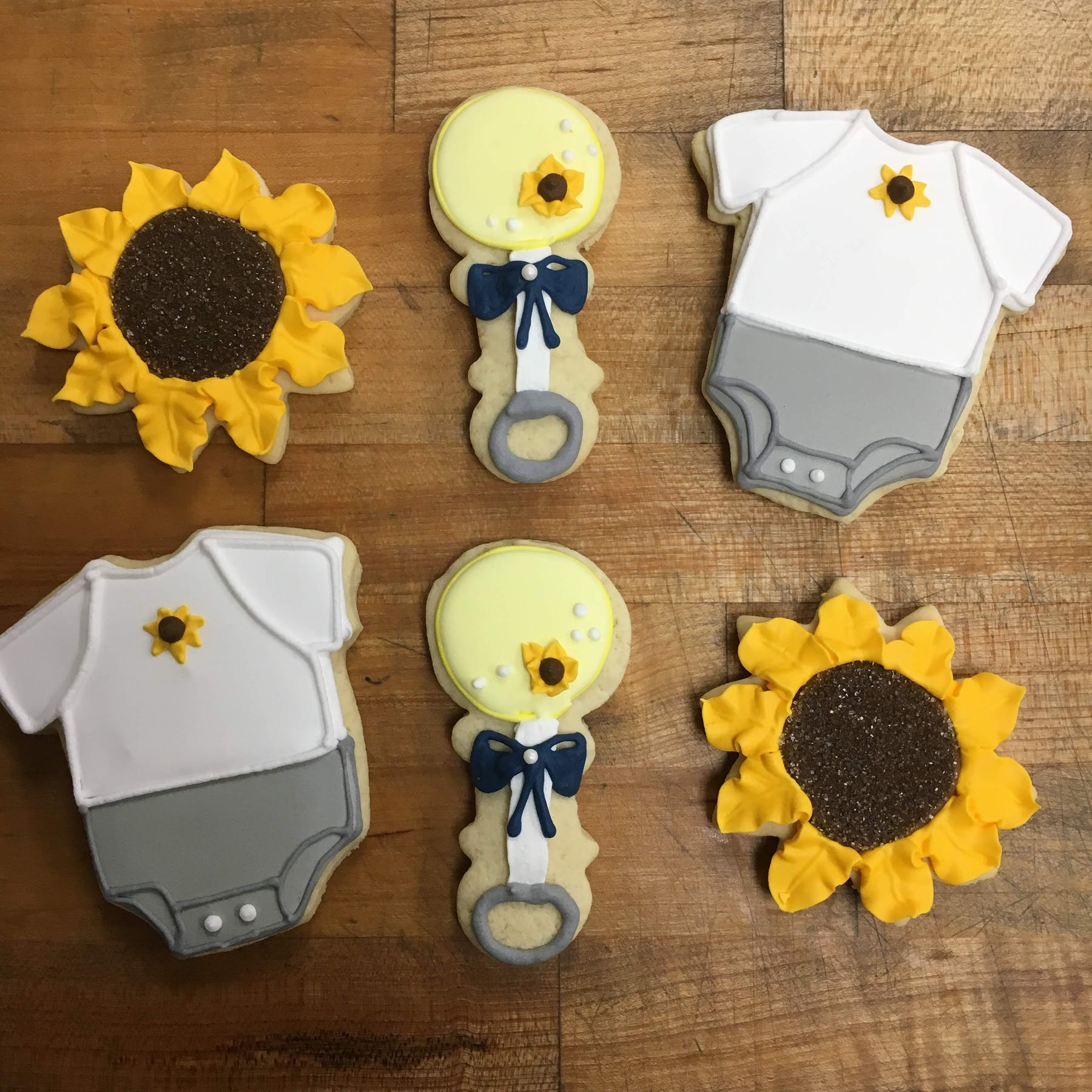 sunflower themed baby shower