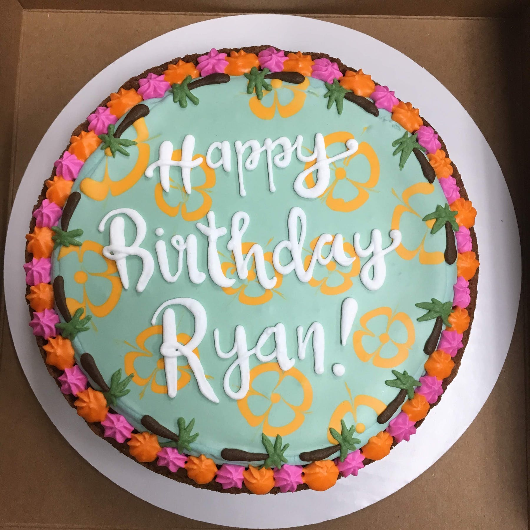 Magnificent Cookie Cakes Colleens Cookies Pastries And Cafe In St Funny Birthday Cards Online Sheoxdamsfinfo