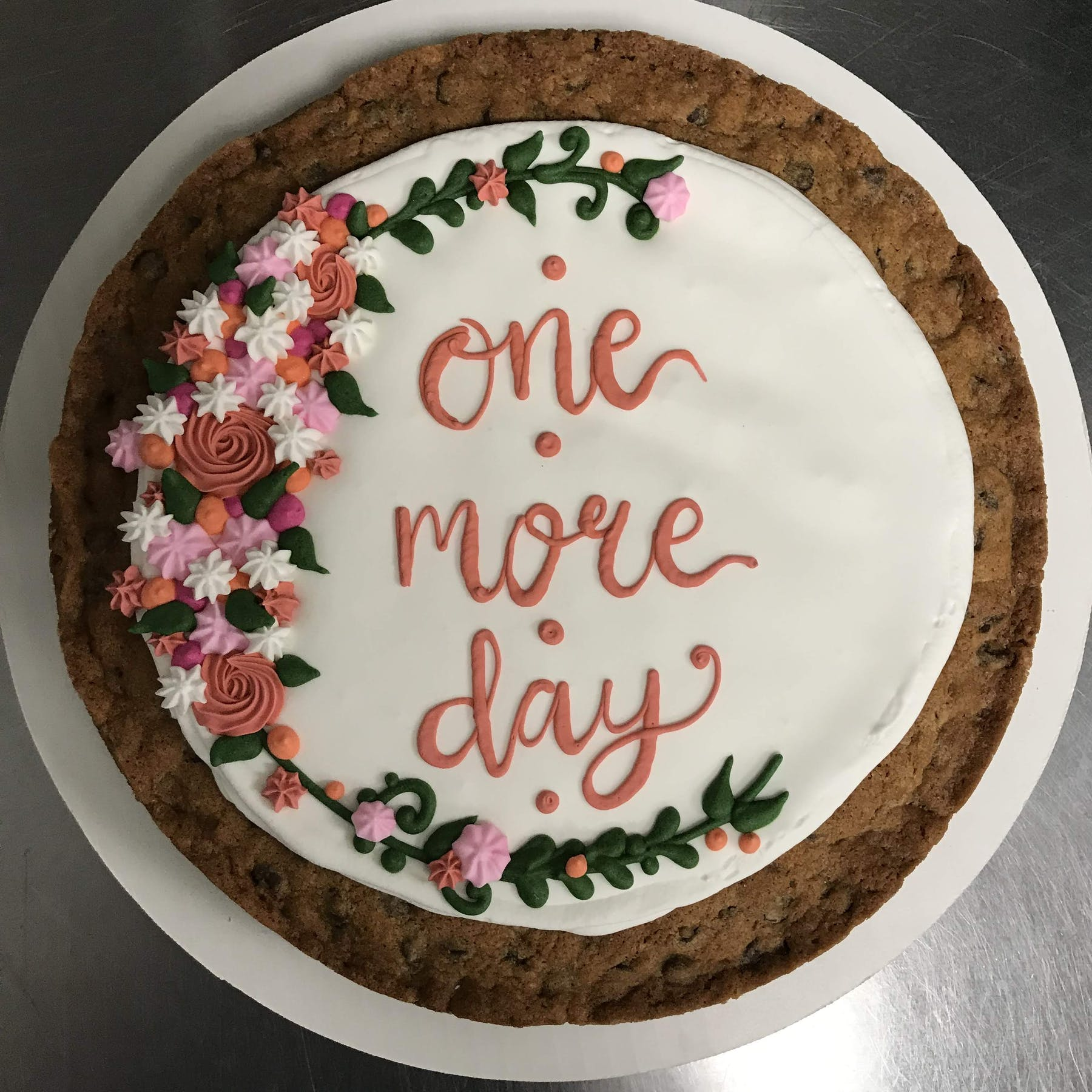 One More Day flower cake