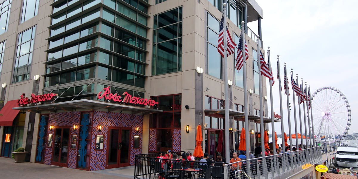 National Harbor Md Hours Location Rosa Mexicano