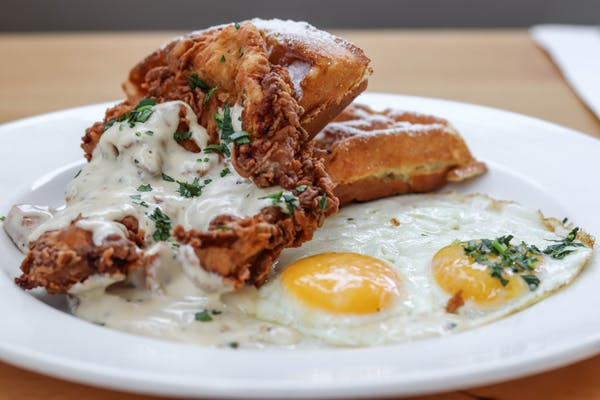 Photo of Thursday Nashville Chicken and Waffles
