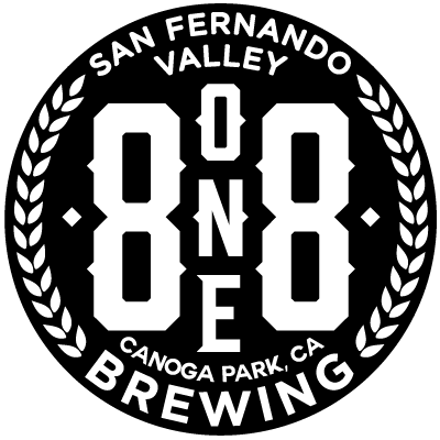 8one8 brewing logo
