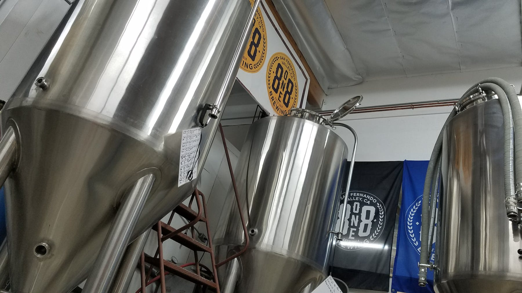 start up of 8one8 fermenters