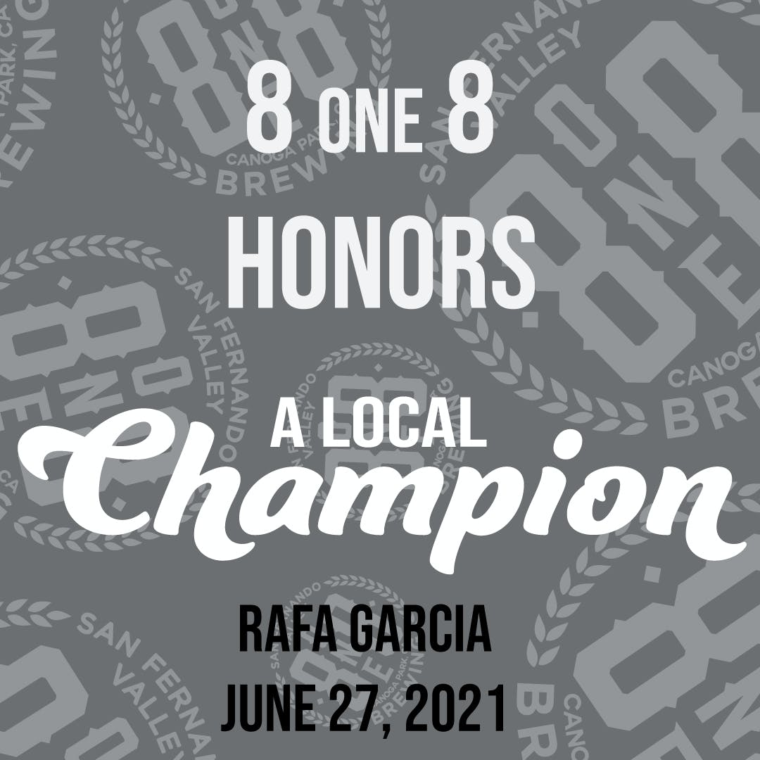 8one8 a local champion