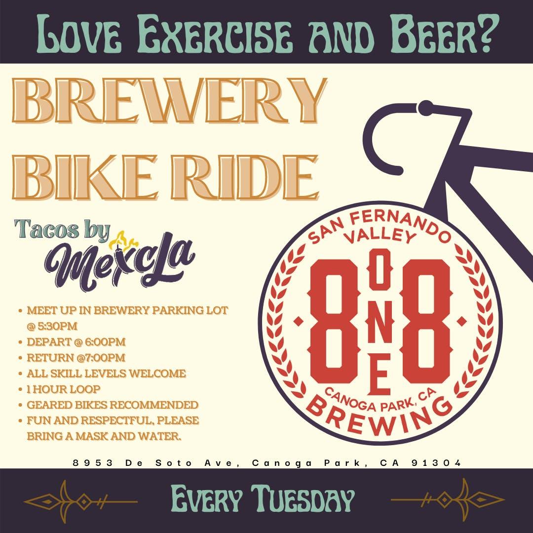 8one8 Brewery Bike Ride (818)