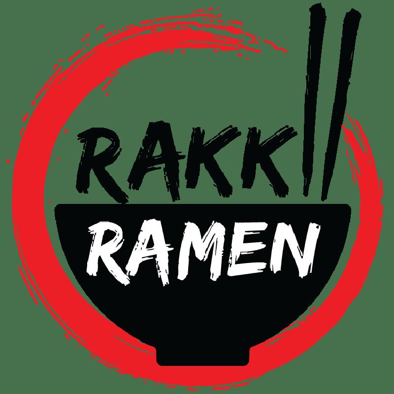 Rakki Ramen logo.