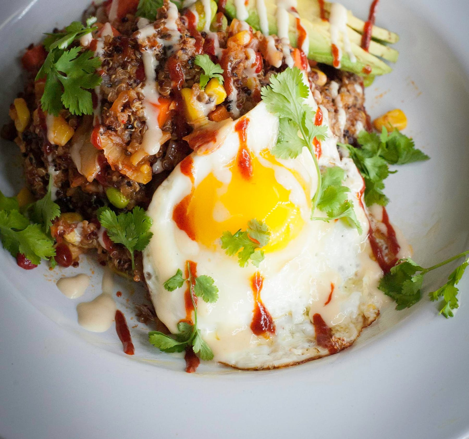 Kimchee Chia Quinoa Stir-Fry