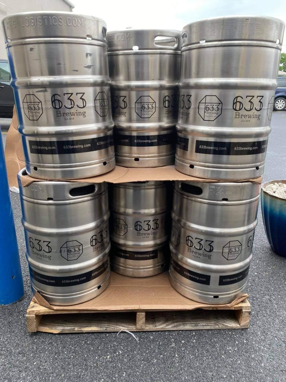kegs of beer