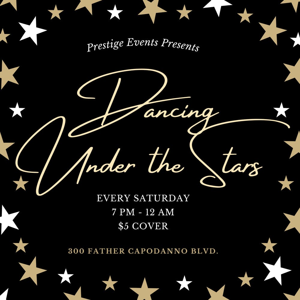 Dancing Under Star At South Fin Grill