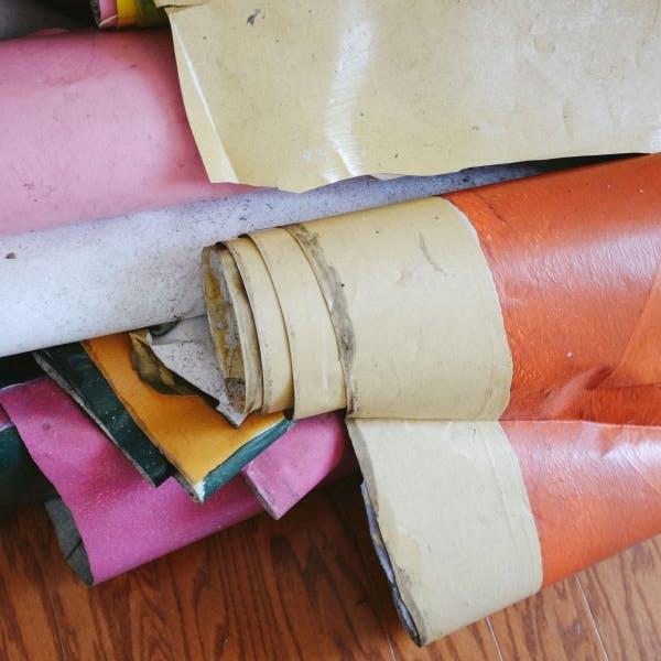 multiple decorative rolls