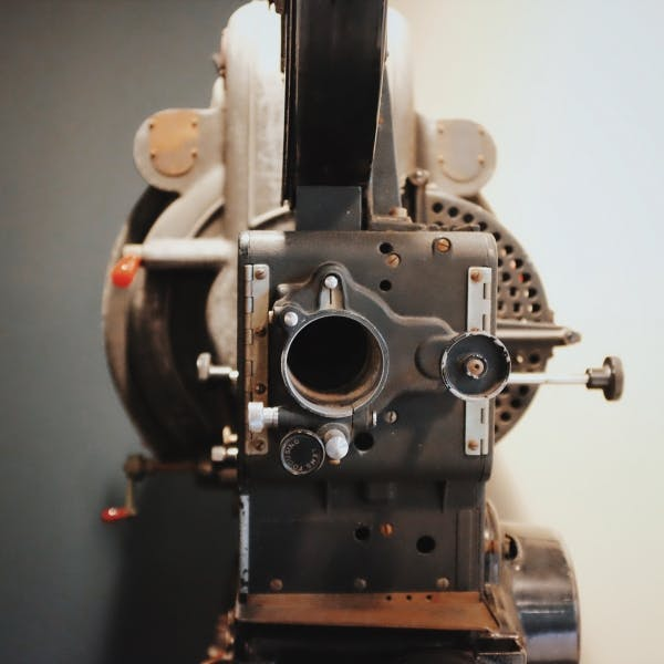 a vintage camera