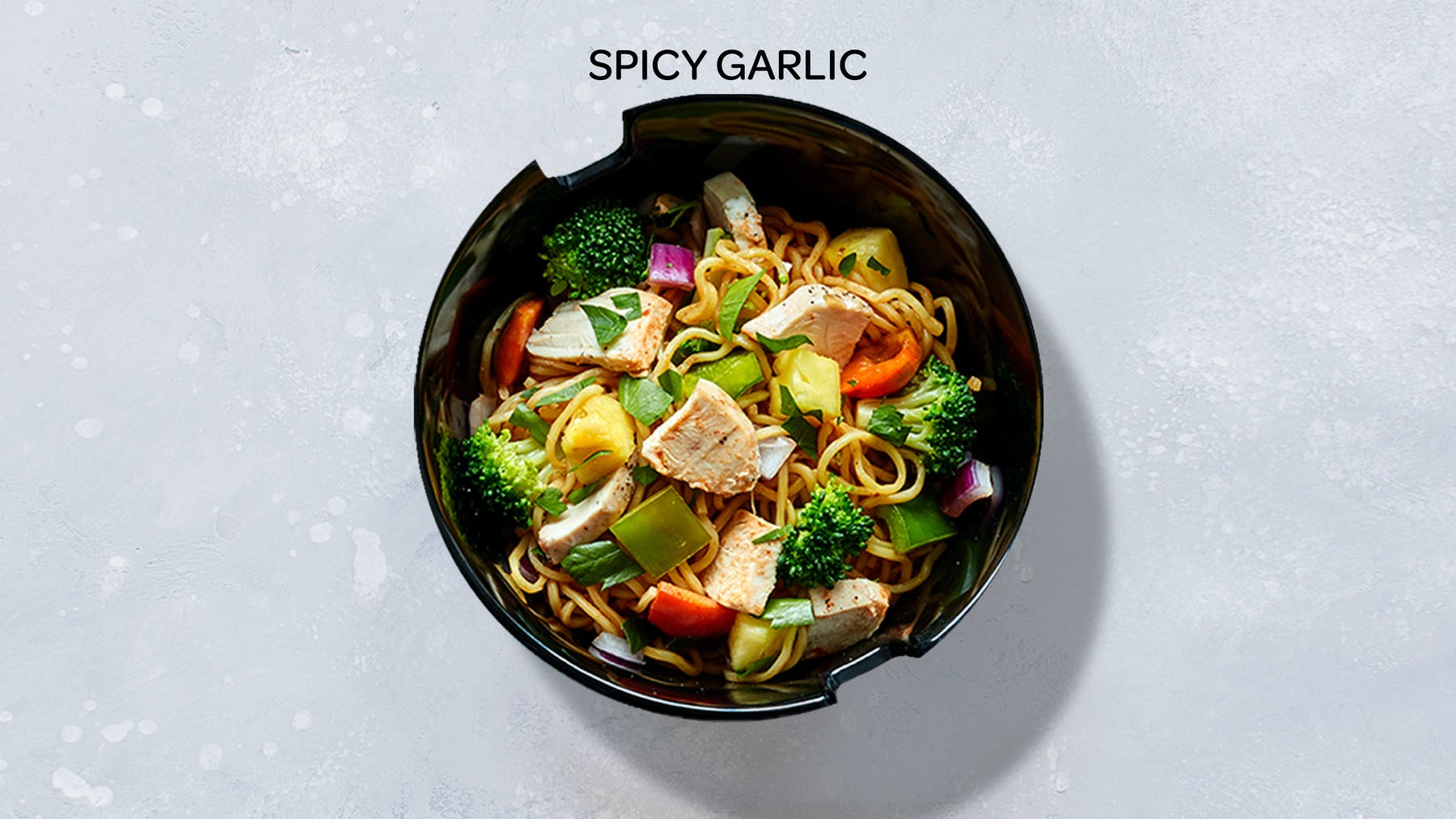 a bowl of spicy garlic stir-fry