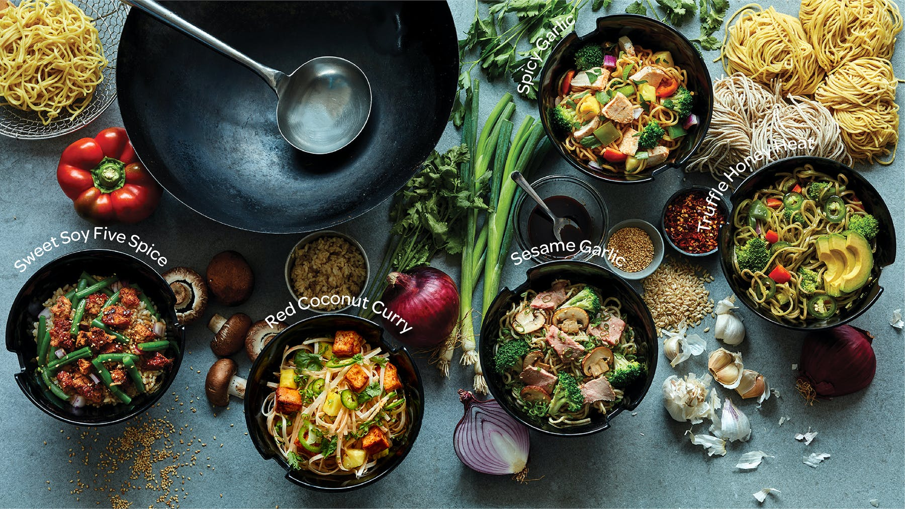 stir-fry dishes