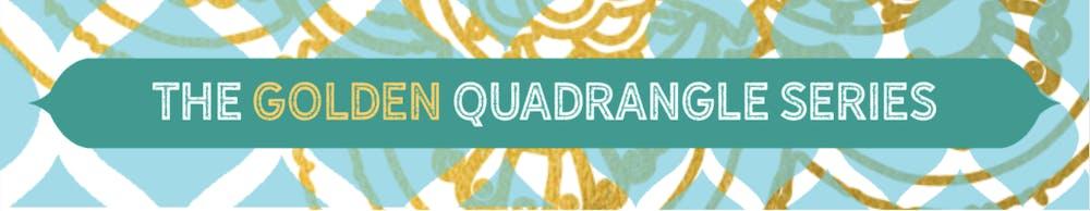 The Golden Quadrangle Series
