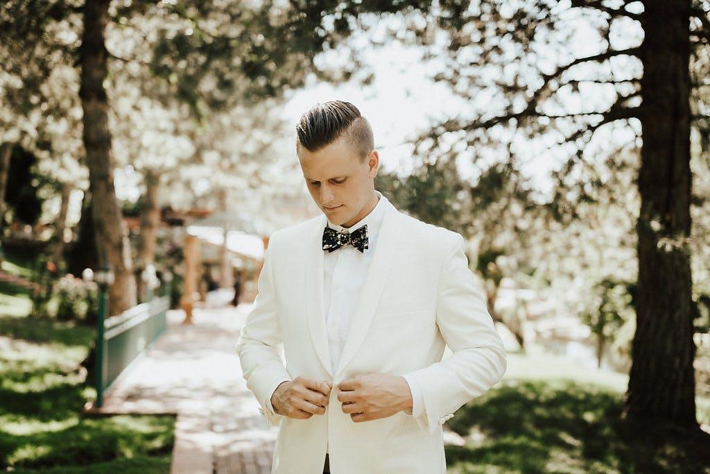 a groom