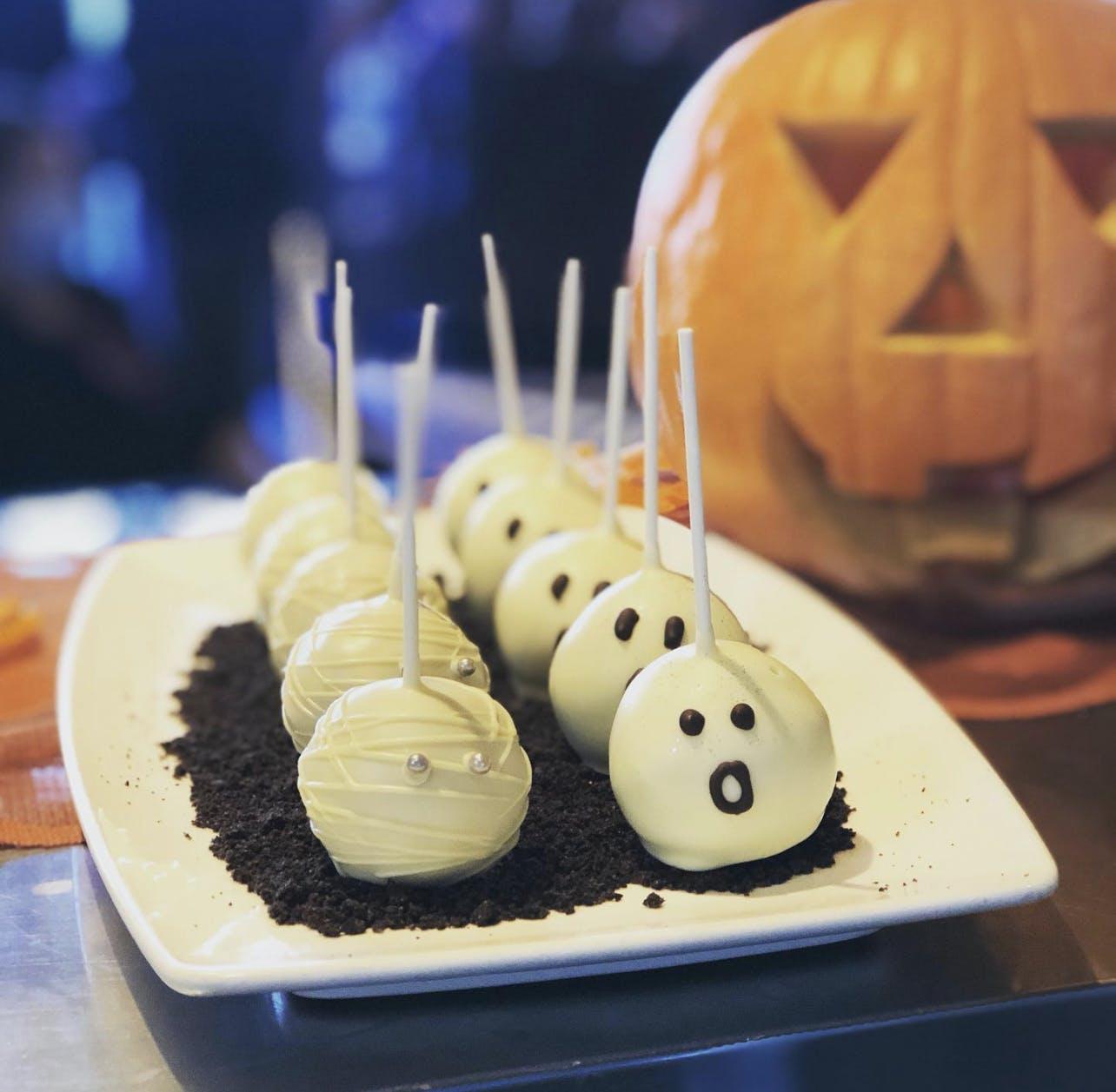 a birthday cake on a table