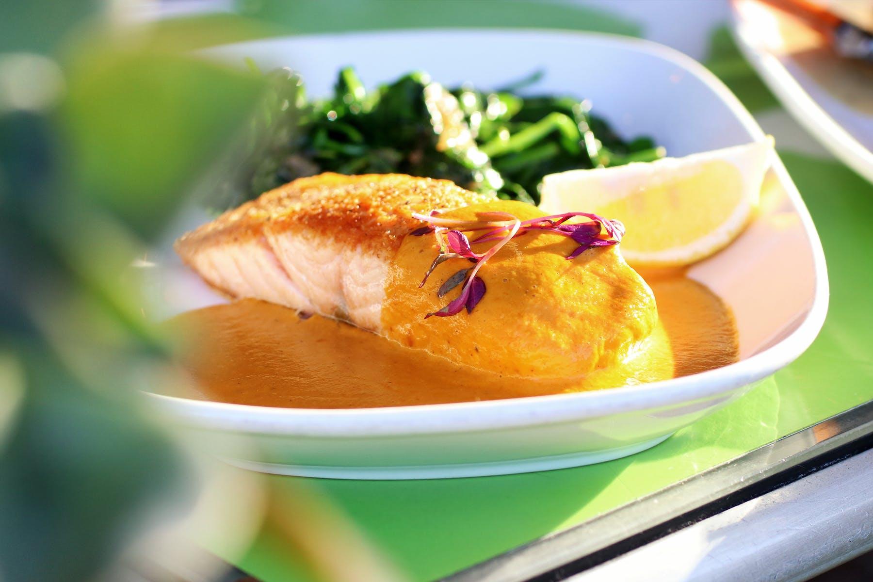 Pan Seared Filet of Salmon