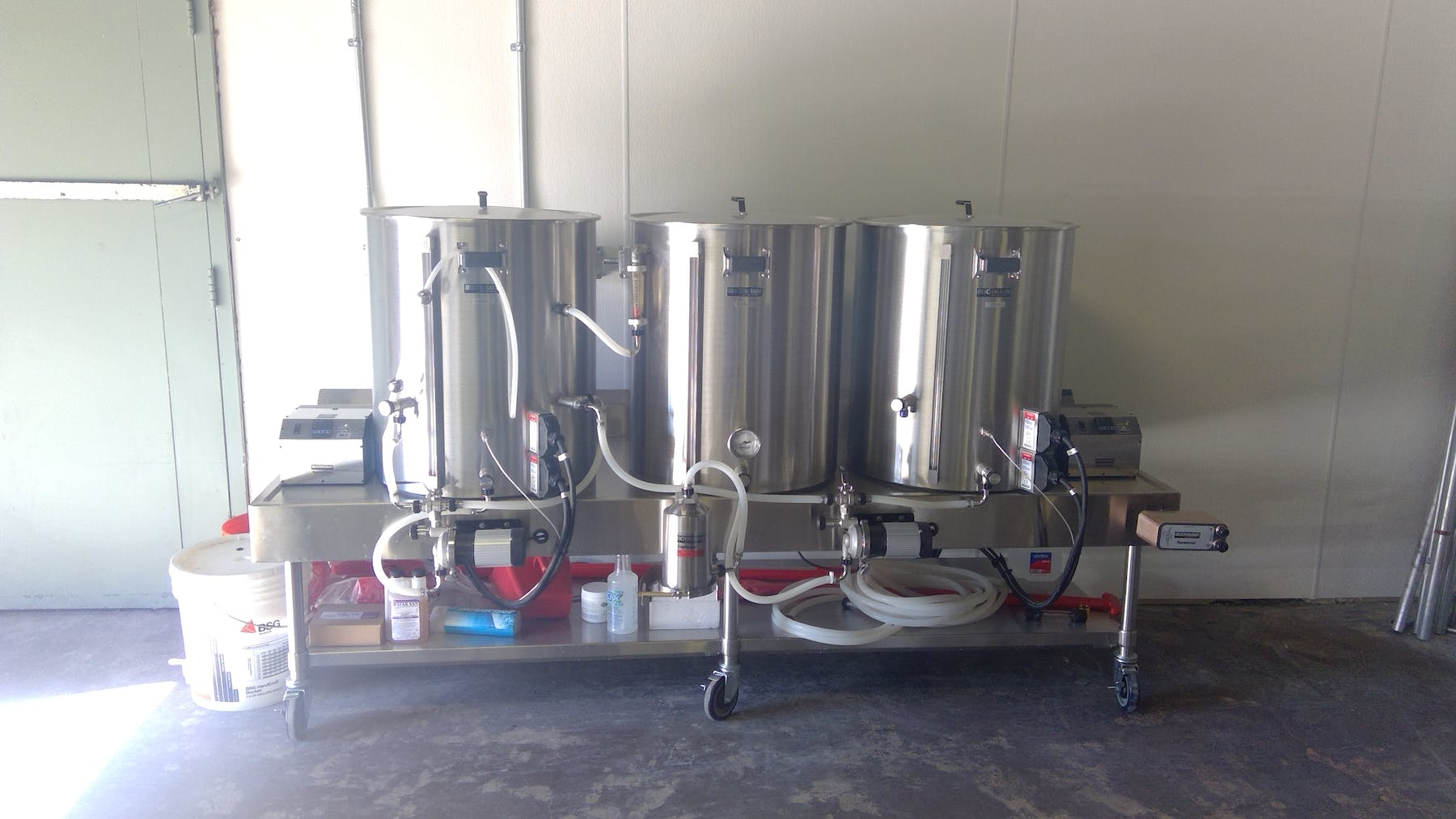 beer brewing machines