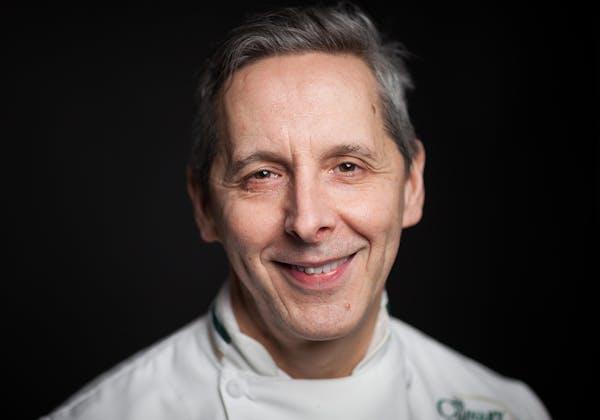 Giovanni (Gianni) Scappin, CIA Chef-Instructor at Ristorante Caterina de' Medici in Hyde Park, NY.