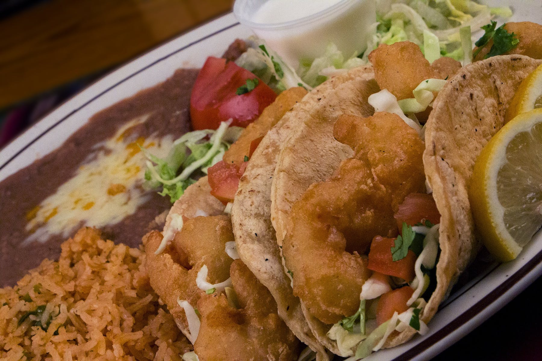 fried chicken in tacos