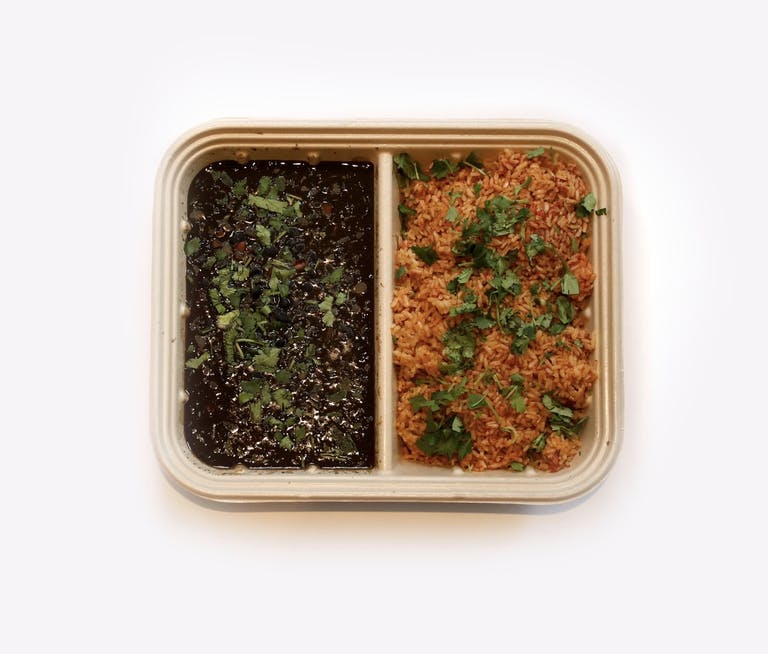 a container with food in it