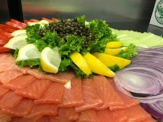 Lox Platter with Veggies