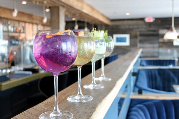 gin colorful