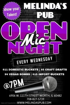Open Mic Thursday Melinda's