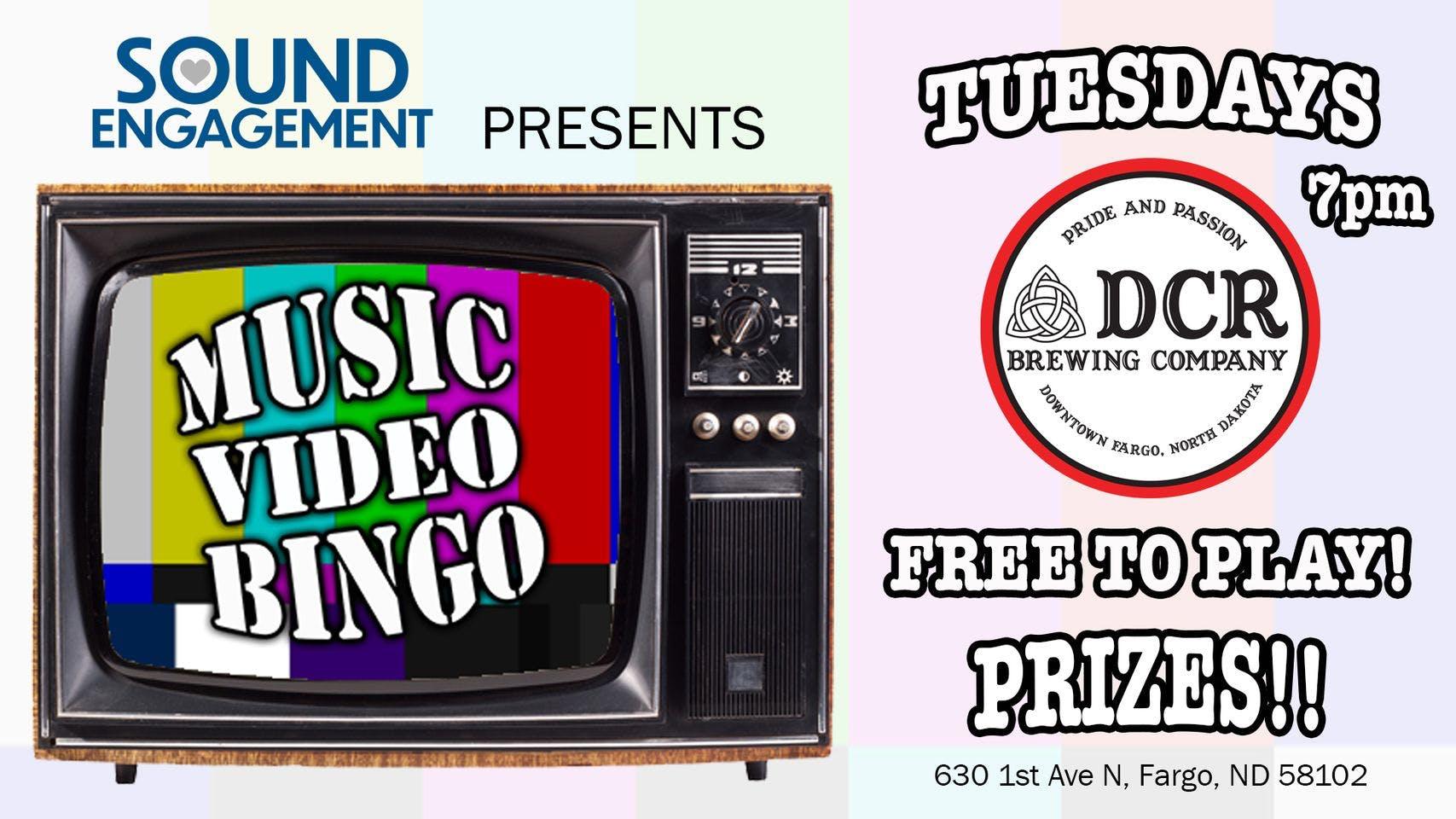 Music Video Bingo