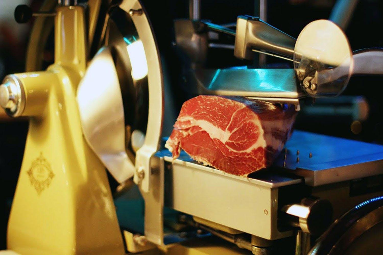 ham cutter machine