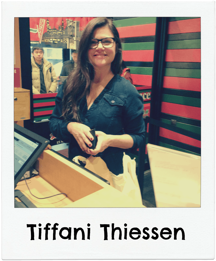 Tiffani Thiessen at Ichiran ramen