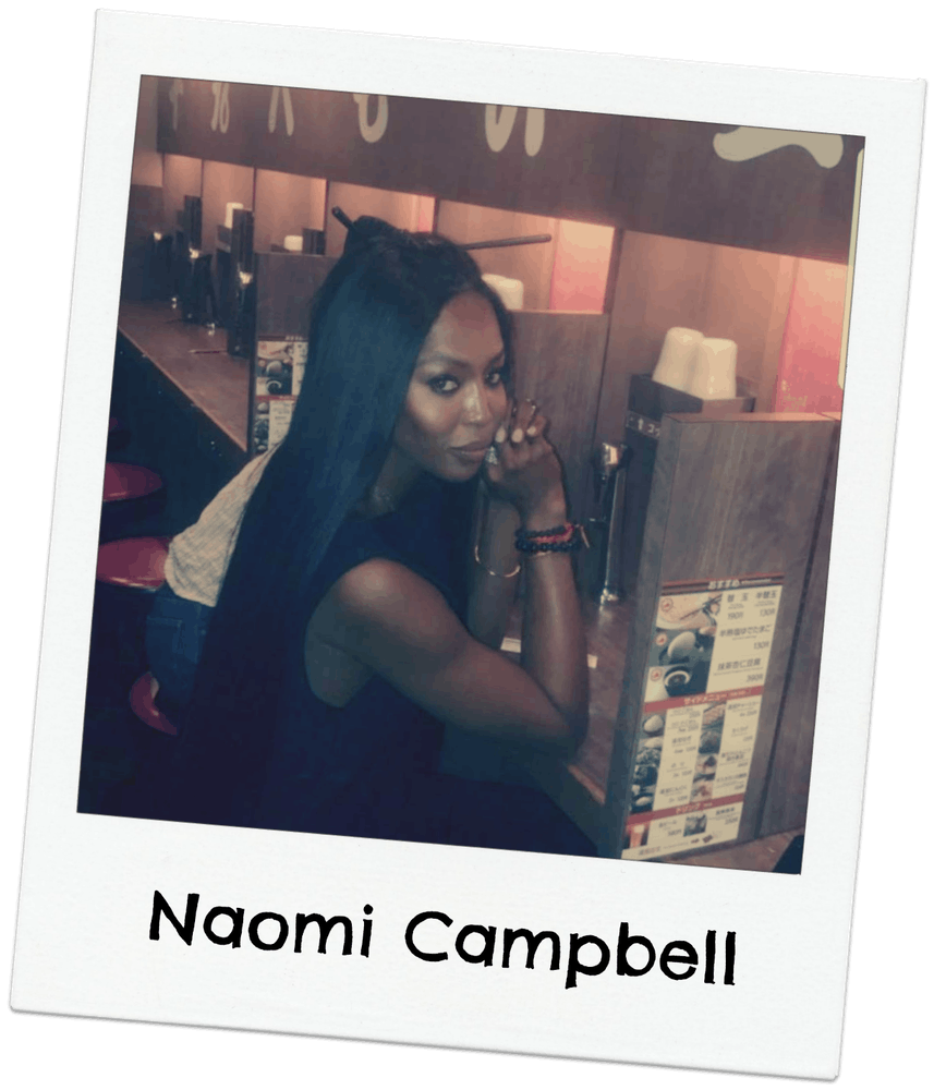 Naomi Campbell posing for a photo
