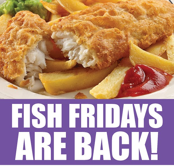 Fish Fridays Are Back!